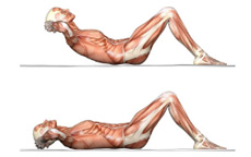 Lezioni virtuali di fitness – Lezione 2 – Gli addominali