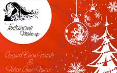 Buon Natale e Felice Anno Nuovo da Tentazione Make Up!