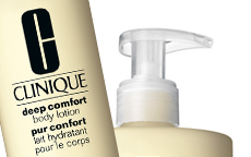 anteprima clinique deep confort body lotion