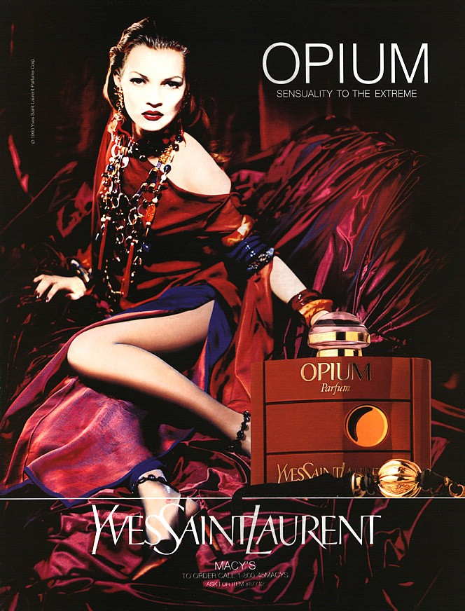 opium profumo adv