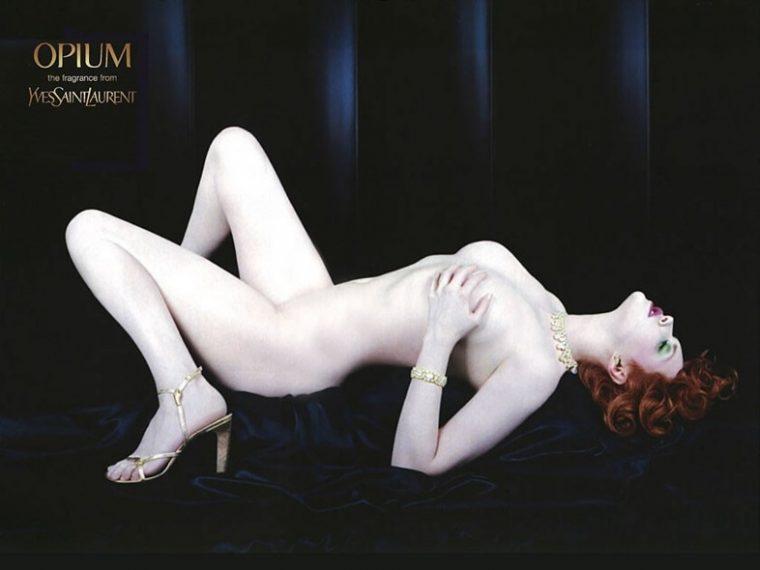 Sophie Dahl Opium profumo Adv