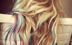 anteprima The hair chalking