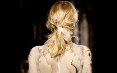 anteprima tendenze capelli London Fashion Week