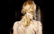 anteprima tendenze capelli London Fashion Week