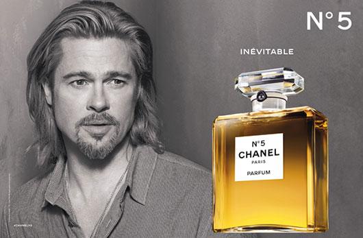 Chanel-No5-Brad-Pitt-pubblicita