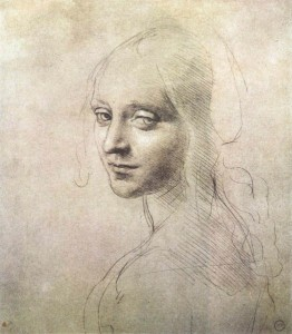 rdo da Vinci - Testa di donna