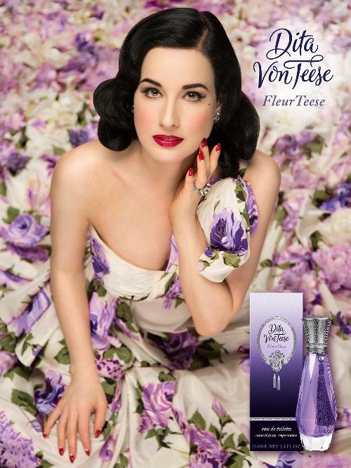 fleur teese la nuova fragranza di dita von teese