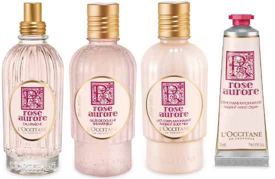 l'occitane collezione rose aurore