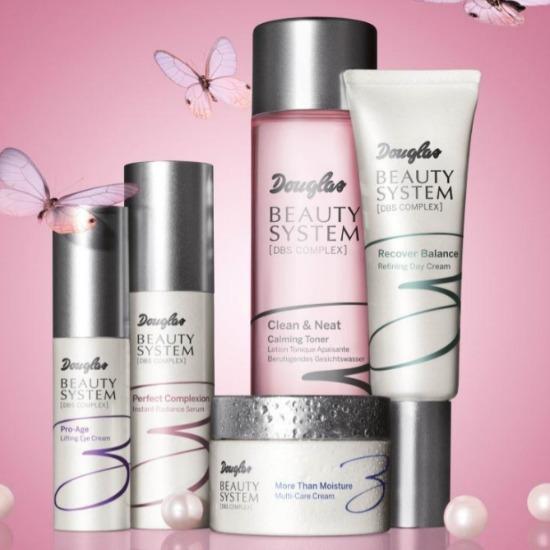 due nuovi prodotti linea douglas beauty system