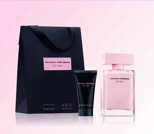 narciso rodriguez for her eau de parfum shopping bag