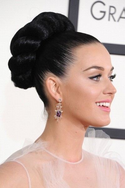 katy perry capelli grammy 2014