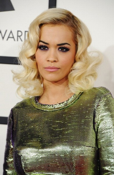 rita ora make up grammy 2014