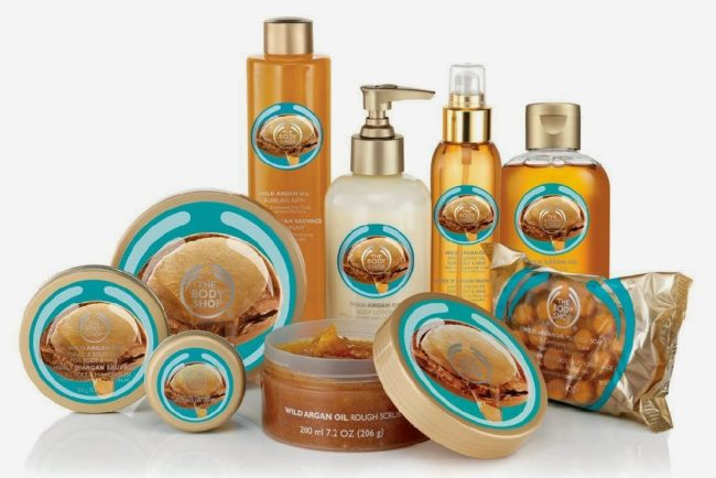 The Body Shop olio argan