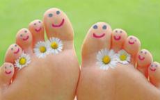 check up piedi