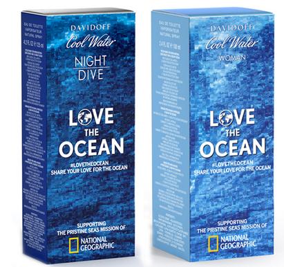 davidoff cool water love the ocean