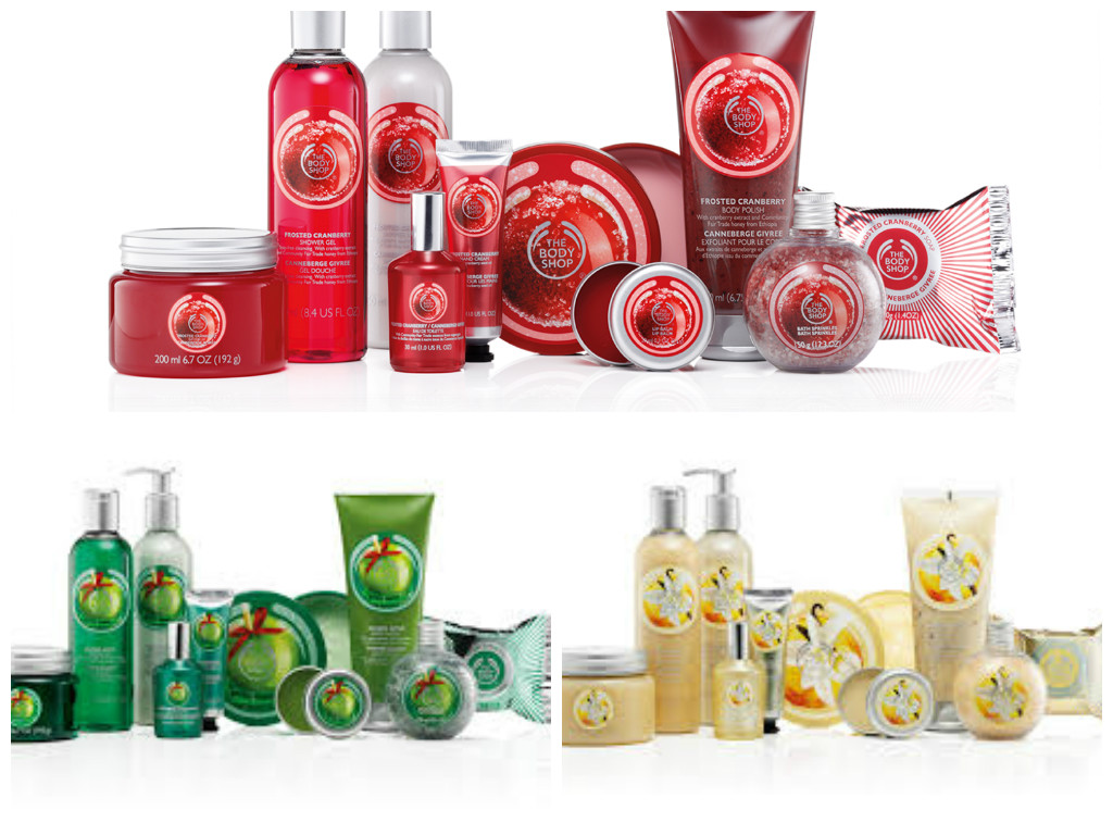 the body shop natale 2014
