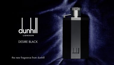 Dunhill Desire Black, la fragranza maschile total black