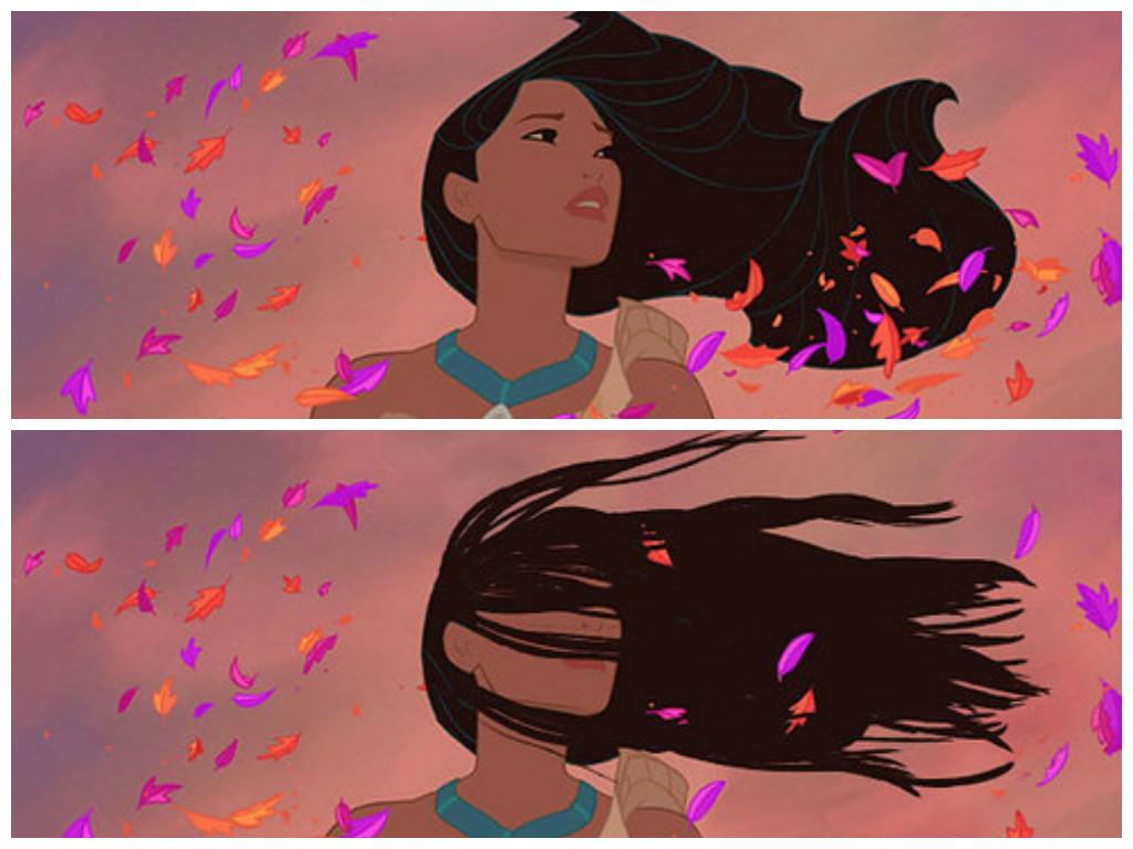 principesse disney coi nostri capelli