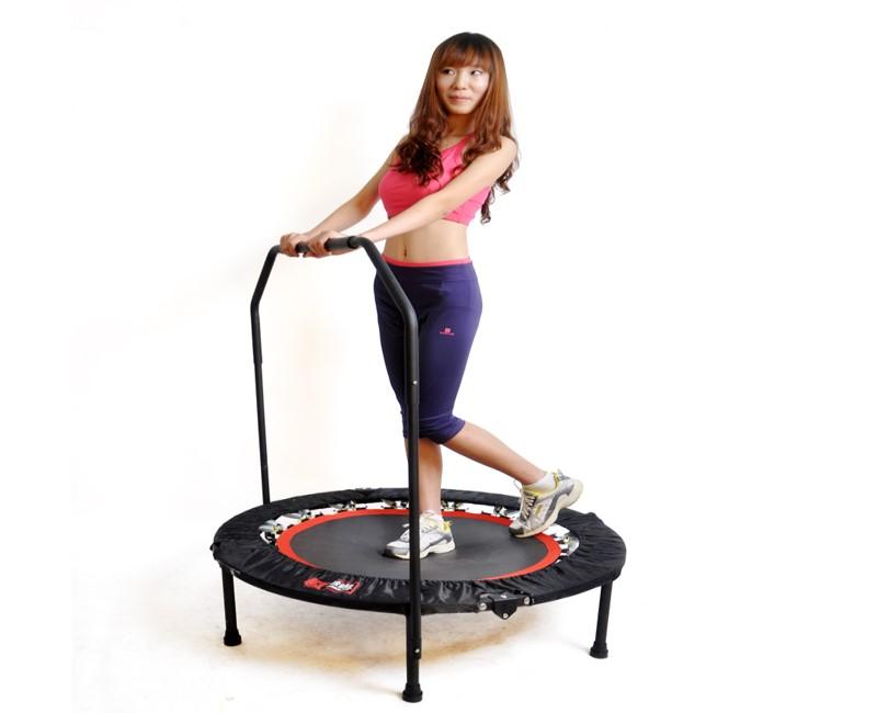 Perdere peso saltando sul trampolino