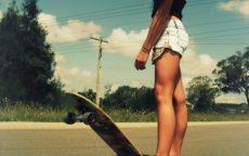 Esercitarsi con lo skateboard un gioco da