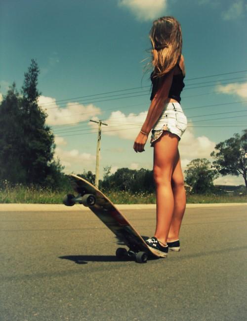 Esercitarsi con lo skateboard, un gioco da... ragazzE!