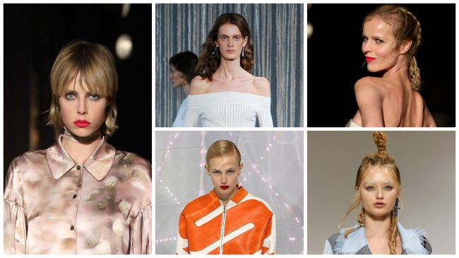 tendenze capelli london fashion week pe 2016