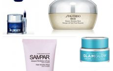 Tony Moly, Shiseido, GlamGlow, Lancome,Sampar