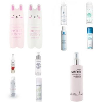 Tony Moly, Sampar, Dolomitic water, Merci Handy, La Roche Posay, Uriage, Cmd, L'Occitane, Avene, Caudelie