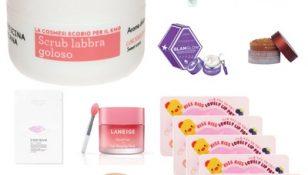 Collage trattamenti labbra